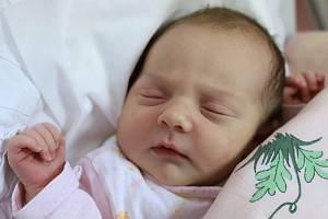 Eliška Horáková z Jasenné je prvním děťátkem manželů Veroniky a Daniela. Holčička se narodila 12. února 2019 v 10,45 hodin a vážila 3655 gramů.Foto: Hana Šimůnková