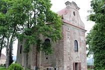 Kostel v Ruprechticích.
