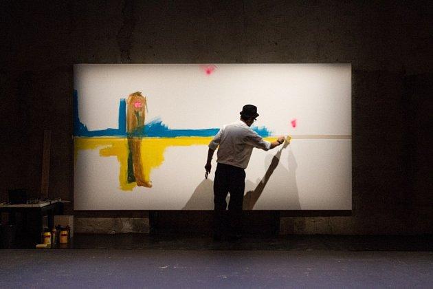 Pod zkratkou KW se skrývá jeden současný český výtvarník Igor Korpaczewski.