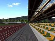 Stadion Hamra v Náchodě bude mít nově i tribunu.