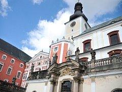 Broumovský klášter.