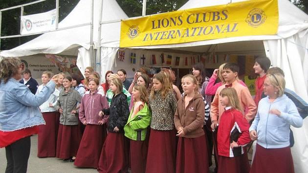 Červenokostelecký Skřivánek slavil úspěchy v Llangollenu.