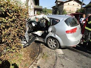 Vážná nehoda v Žabokrkách