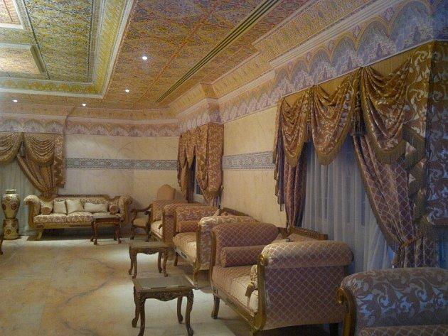 Luxusní vila v Saúdské Arábii.
