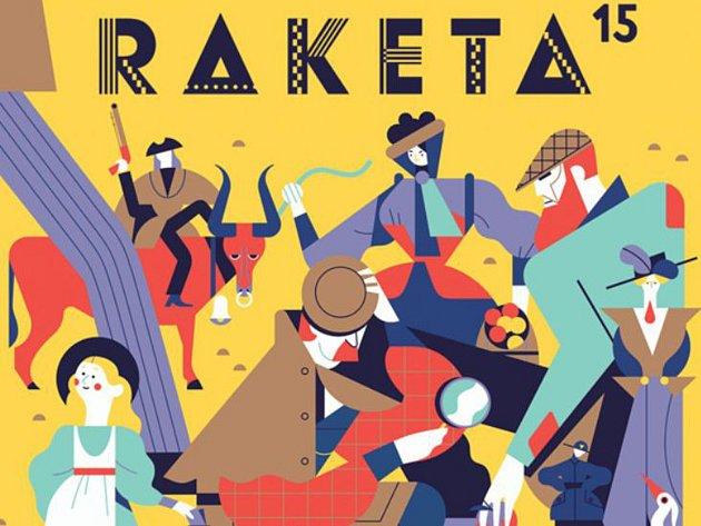 Výstava Raketa se zaměřuje na unikátní dětské časopisy Raketa, originální ilustrace, vtipné básničky či 3D objekty.