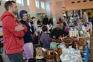 Vánoční trhy v jídelně Rubeny v Náchodě.