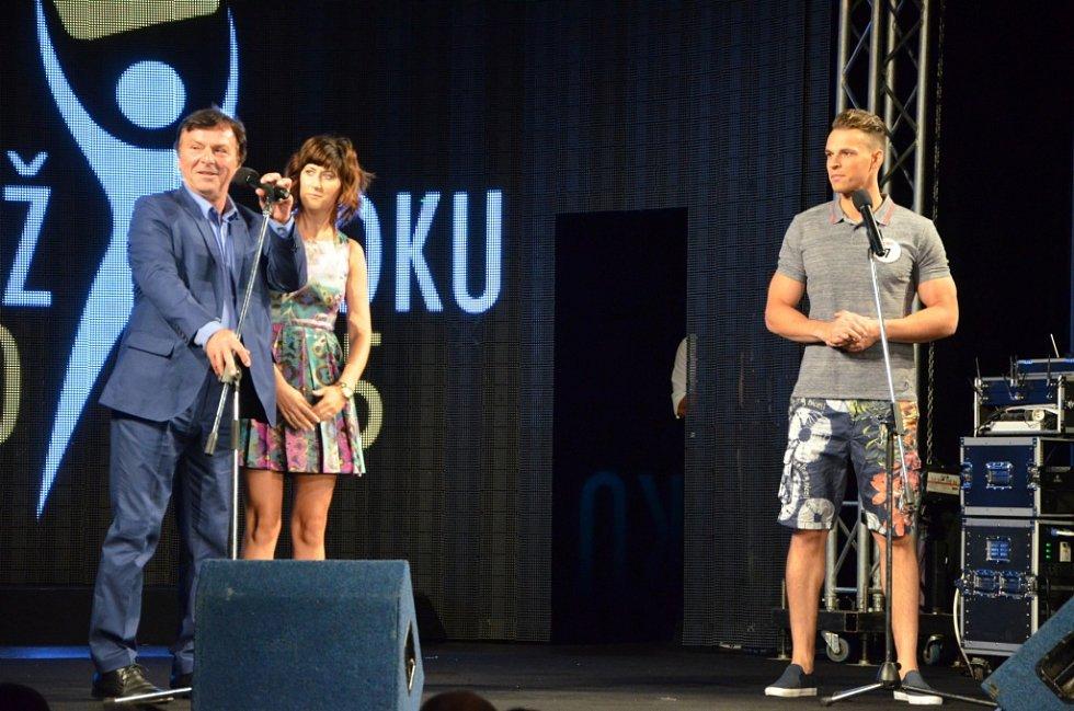 Pavel Trávníček na finále soutěže Muž roku.