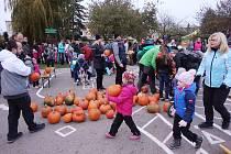 Halloweenská stezka odvahy v Zájezdě se opět vydařila.