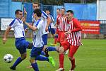 Fotbalová divize C: Náchod - Kutná Hora.