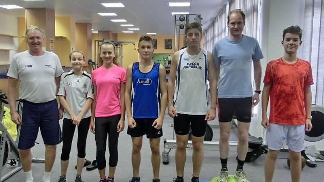 PO LEVICI trenéra Vondřejce je Adéla Čeňková, pak Jana Jakoubková, Jakub Vondra, Milda Novotný, Jiří Vondřejc a Martin Rydlo.