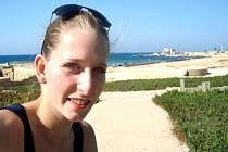 TEREZA DOŠKOVÁ si pobyt v Izraeli užívala.
