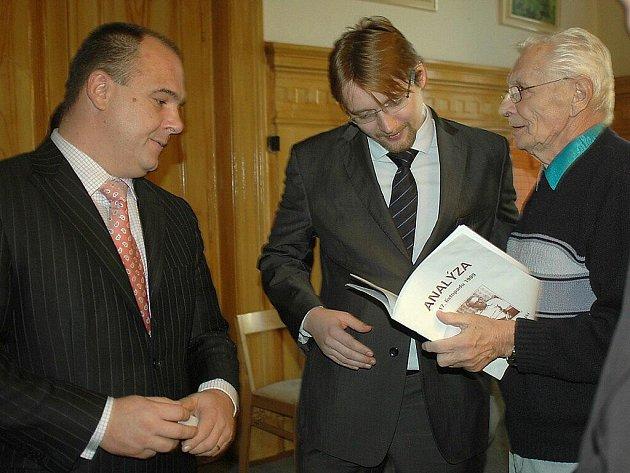 Ministr dopravy Pavel Dobeš v Náchodě.