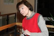Spisovatelka Eva Koudelková.