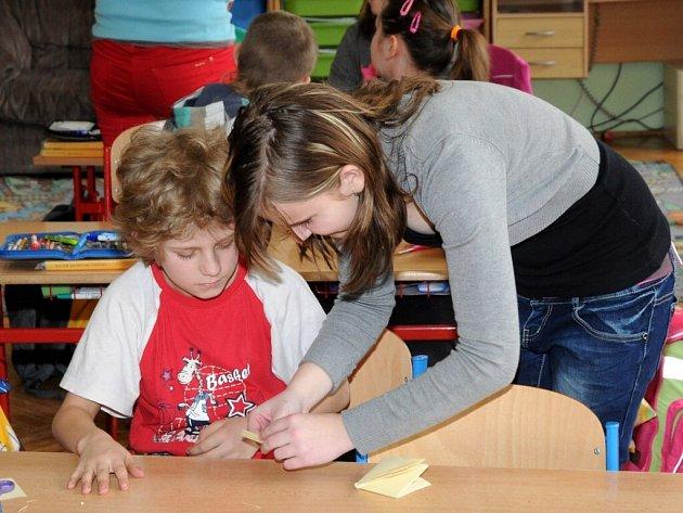 ŠKOLÁCI si vyzkoušeli role pedagogů.