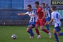 Náchodští fotbalisté padli s Chrudimí po výsledku 0:2.
