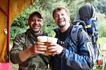 Pivní turisté prošli deset hospod Novoměstskem