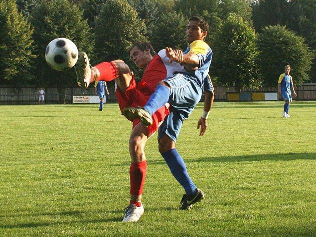 Dramatické pohárové utkání skončilo v Červeném Kostelci výhrou domácích, kteří na penalty vyřadili Českou Skalici.