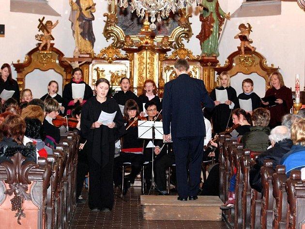 Vánoční koncert  v Hronově.
