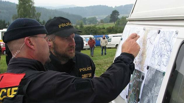 Pátrání po ostatcích Jany Spalové z Kladna.