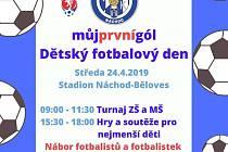 Dětský fotbalový den.