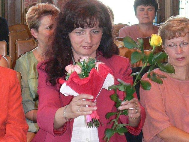 Jednou z oceněných byla i pedagožka Iva Prouzová.