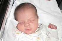 KAROLÍNA HRADECKÁ se narodila 13. února 2011 ve 22:59 hodin s délkou 51 cm a váhou 4,1 kg. S rodiči Janou a Davidem bydlí v Ruprechticích.