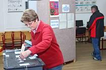 Komunální volby v Červeném Kostelci.
