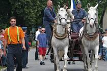 Oslavy hasičů a rodáků v Žernově.