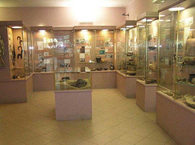 Expozice regionálního muzea v Náchodě.
