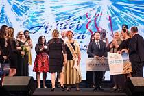 Na finálový večer projektu Anděl mezi zdravotníky přijeli do náchodského divadla kromě soutěžících i známé tváře kulturního a společenského života.