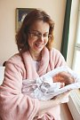 MARTIN JELÍNEK se narodil v trutnovské porodnici 31. března ve 4.24 hodin. Vážil 2,75 kilogramu a měřil 47 centimetrů. Společně s rodiči Luckou a Petrem bude bydlet v Ústí nad Labem.