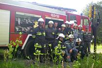 Z archivu hasičů z Nizké Srbské.