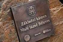 Slavnostním poklepáním základního kamene začala v sobotu 24. března v Náchodě-Bělovsi výstavba Malých lázní.