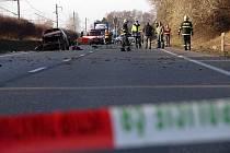 Smrtelná nehoda u Semonic.