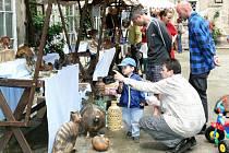 Nedílnou součástí programu Brány města dokořán jsou tradiční trhy uměleckých řemesel.