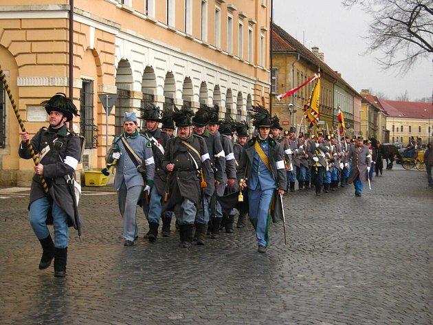 Ceremoniál Otevírání pevnosti Josefov se uskutečnil poslední březnovou sobotu.