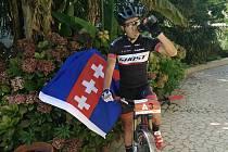 ČERVENOKOSTELECKÝ biker Michal Kaněra má za sebou velmi dobrou sezónu, v níž bodoval jak v domácích, tak i v zahraničních závodech.