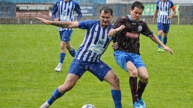 Fotbal AGRO CS Pohár: FK Náchod - FK Chlumec nad Cidlinou.