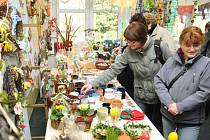 Ve společenské místnosti Domova odpočinku ve stáří Justynka se v pátek uskutečnila tradiční velikonoční výstava.