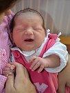 ELIŠKA MOHELNÍKOVÁ je třetím potomkem Richarda a Lenky z Náchoda. Holčička se narodila 31. srpna 2016 v 9.46 hodin, vážila 3190 gramů a měřila 49 centimetrů. Doma má sourozence Kristýnku a Martínka.