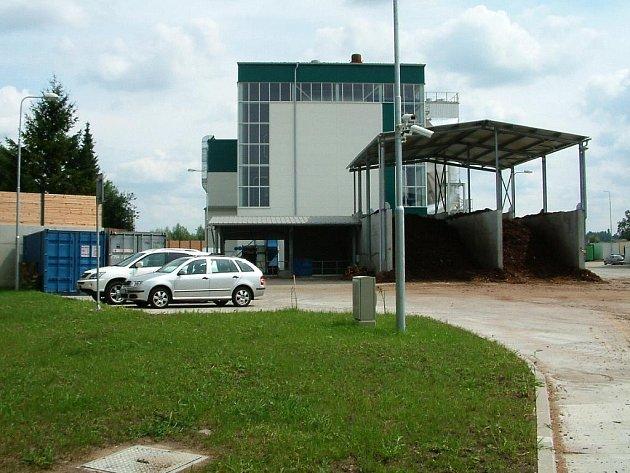 Elektrárna v Čáslavi.
