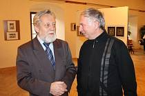 Vernisáž fotografií Miroslava Holči.