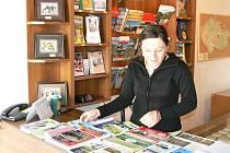 Stávající informační středisko navštěvuje prý v současné době 60 až 70 turistů denně.