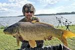 Martin Lazok rybaří na Rozkoši už dvacet let.