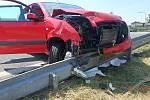 Nehoda dvou aut v České Skalici.