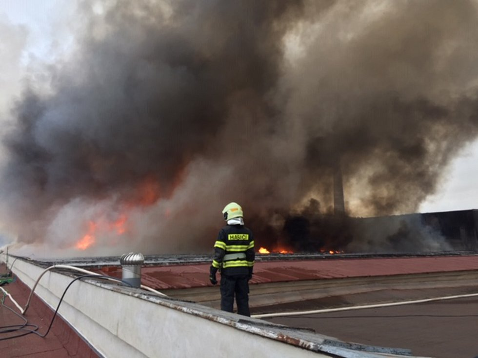 Děkujeme hasičům za jejich obrovské nasazení.