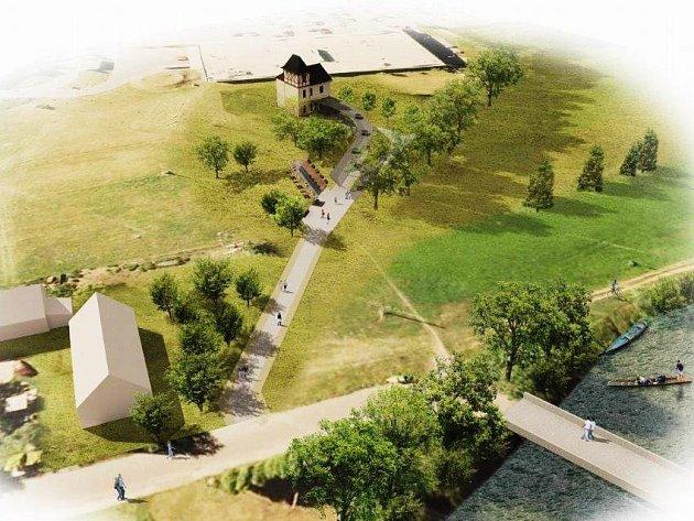 MALÉ LÁZNĚ v Náchodě Bělovsi nabídnou zázemí prvorepublikové vily Komenský, kolonádu s balneoprvky i osvěžující kyselku z nově vybudovaných vrtů.