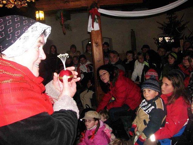 Vánoce v Babiččině údolí.