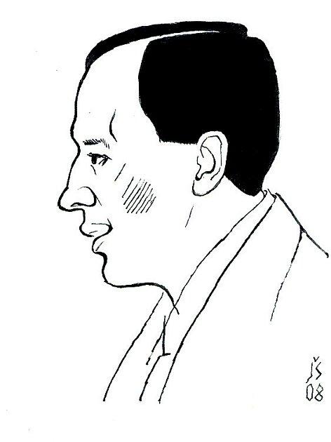 Spisovatel , dramatik, novinář Karel Čapek (1890 – 1938).