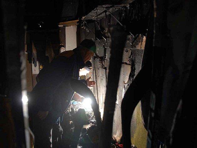 Po požáru v šatněýách novoměstských hokejistů.